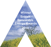 Winner British Renewable Energy Awards 2019